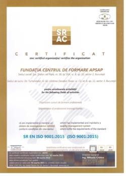 CERTIFICAT SRAC 2018