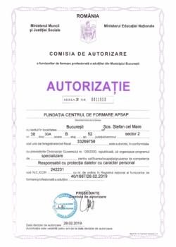 Autorizatie DPO