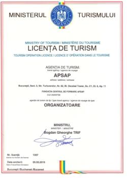 Licenta Turism